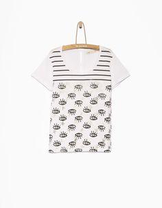 Tee-shirt fille blanc - IKKS Junior