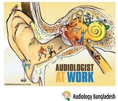 Audiologist at work Source : ADVANCE Healthcare Shop #audiologist #audiologybangladesh