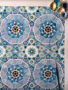 Jame Mosque in Yazd - Margi Lake Islamic Art Pattern, Arabic Pattern, Geometry Pattern, Pattern Art, Arabesque Pattern, Persian Motifs, Geometric Tiles, Tangle Art, Turkish Art