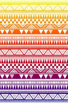 geckobrok: Aztec Wallpaper 2 on We Heart Ithttp://weheartit.com/entry/78996688/via/druholt
