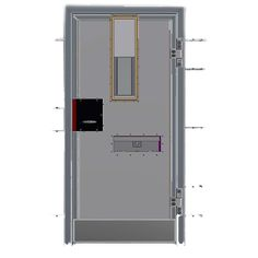 Prison Doors with Manual & Electric Locks. Steelvision offer various combinations with manual and electric locks, we can also tailor the design to suit any specific facilities requirements. We have been involved in extensive attack tests for our cell door range and all feedback has been exceptional