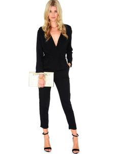 Can't go wrong with a black jumpsuit! These are selling at Dotti at the moment for $79!