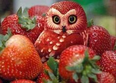 Decorate with fruit (9 photos)