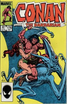 Cover for Conan the Barbarian (Marvel, 1970 series) #176