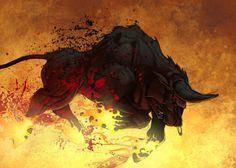 Charging Bull - Taurus ♉︎