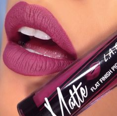 LA Girl Matte Lipstick - Rebel