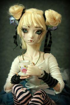One of a kind Porcelain BJD Doll by Aidamaris Roman . Forgotten Hearts . | Flickr: Intercambio de fotos