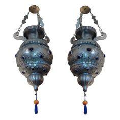 Pair of Moroccan Lanterns