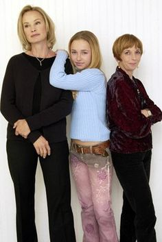 Jessica Lange, Jane Anderson and Hayden Panettiere at event of Normal