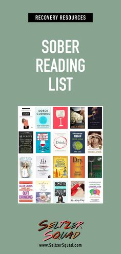 Books on recovery and sobriety. Memoirs, and other musings selected by Kate and Jes of the Seltzer Squad.   Seltzer Squad is a podcast about staying sober in the city.