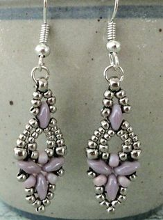 Linda's Crafty Inspirations: Four more pairs of Elinor Earrings