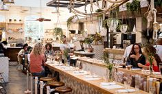 9 amazing & yummy places to eat healthy in Los Angeles - The Butcher's Daughter in Venice