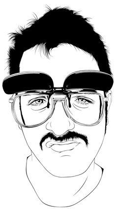Vector illustrations by Alejandro Garcia bw2