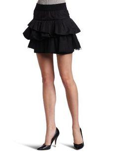 XOXO Juniors Tiered Ruffle Skirt, Black, Medium XOXO, http://www.amazon.com/dp/B005RDFS7K/ref=cm_sw_r_pi_dp_pIiMpb16AGNBS