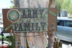 Army Family Photo PlaqueMilitary Photo by CraftsByJoyice on Etsy, $27.95