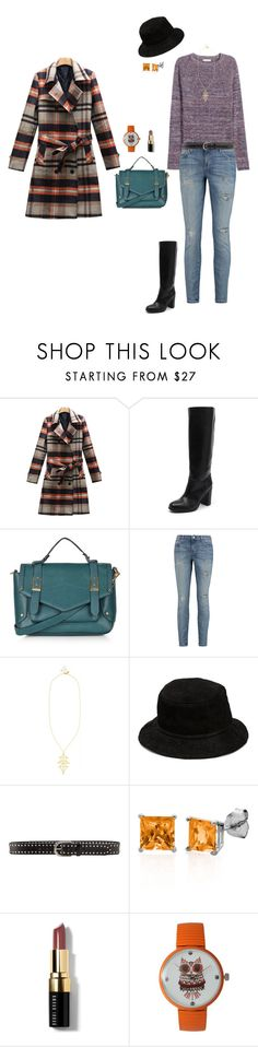 """Winter 15"" by bondril ❤ liked on Polyvore featuring Topshop, Current/Elliott, Arme De L'Amour, Alexander Wang, Linea Pelle, Belk & Co., Bobbi Brown Cosmetics, Olivia Pratt, women's clothing and women's fashion"