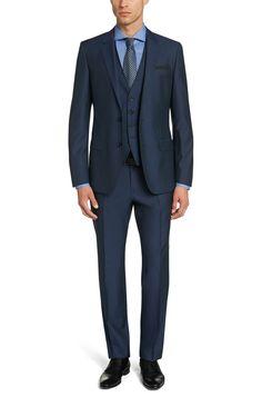 3-piece suit: 'Huge4/Genius3'