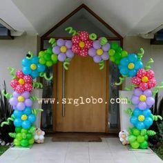 Arco de flores  Decoración con globos  Ale Parra Cba  1563971701  Www.srglobo.com