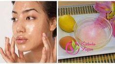Plastik cerrahların gizlediği maske 5 dakikada daha genç görünün! Yumurta akı ve limon suyu