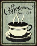 Retro Coffee I Posters van N. Harbick