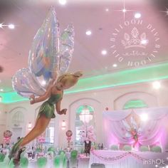 🧚🏻♀️ Tinkerbell Themed Christening In our opinion its all in the details 😁 💗➡️➡️➡️➡️Swipe to see more 💗 🧚🏻♀️ Blossom Tree Hire 🧚🏻♀️ Bespoke Light Up Balloons 🧚🏻♀️ Cutout Cardboard Tinkerbell 🧚🏻♀️ Sweet/Candy Table Set Up Bday Girl, 1st Birthday Girls, 1st Birthday Parties, Tinkerbell Party Theme, Fairy Birthday Party, Tangled Party, Cake Birthday, Tinker Bell, Deco Baby Shower
