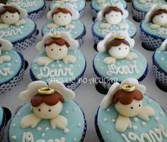 Resultado de imagen para cupcake batizado
