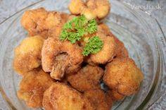 Bleskovo vypražený karfiol (fotorecept) - Recept Finger Foods, Ale, Meat, Chicken, Vegetables, Ethnic Recipes, Finger Food, Ale Beer, Vegetable Recipes
