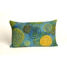Nordmeyer Graffiti Swirl Outdoor Lumbar Pillow