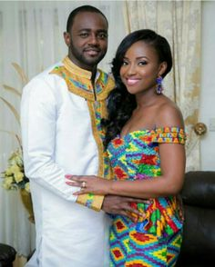 Cute Couple & They Killed It With the Kente