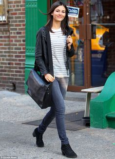 Victoria Justice - casual street style