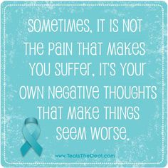 It's tough, though. Ovarian Cancer Awareness, Cervical Cancer, I Miss You More, Cancer Quotes, Beat Cancer, Quote Board, Fundraisers, Everyone Knows, Negative Thoughts