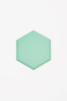 COS image 9 of HAY Kaleido small metal tray in Mint