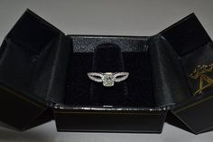 Cathedral Split Shank Diamond Ring & Band Set 14K White Gold (0.35ct) - Allurez.com