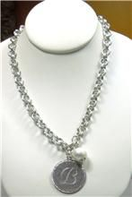 John Wind Silver Initial Necklace!!! I'm dying for one of these!!!!!