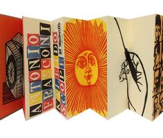 Kaleidoscope in Woodcuts by Antonio Frasconi, trade edition by Harcourt & Brace | Honey & Wax Booksellers