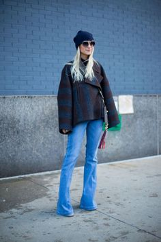 BAZAAR's Diego Zuko took to the bitter cold streets of New York Fashion Week and snapped the best street style. To see all the looks, click through: