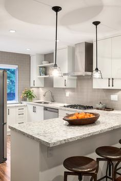 Urban Chalet - North Vancouver Design & Renovation - transitional - Kitchen - Vancouver - Space Harmony