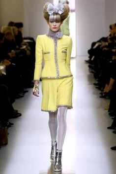 Chanel Spring 2010 Couture Fashion Show: Complete Collection - Style.com