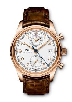 TimeZone : Industry News » N E W M o d e l - IWC Portuguese Chronograph Classic