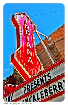 Indiana Theater in Bloomington engagement photo shoot?