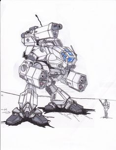 MAD-2R Marauder by ~BishopSteiner on deviantART