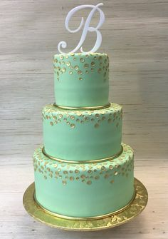 mint green and gold wedding cakes 1000 images about green wedding cakes on 17444