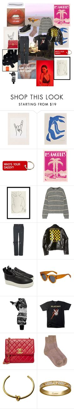 """""""Heyyyyyyyyyyy"""" by vera-e-ekdahl on Polyvore featuring Urban Outfitters, Various Projects, Acne Studios, RE/DONE, Enfants Riches Déprimés, CÉLINE, Aesop, Missoni and Cartier"""