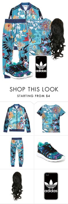 """""""A Whole Adidas Outfit!!"""" by qeens ❤ liked on Polyvore featuring adidas, women's clothing, women's fashion, women, female, woman, misses and juniors"""
