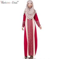 Parties Illustration Description Arabian Robe Middle East Muslim Long Dress red M – Read More – Muslim Long Dress, Ethnic Fashion, Womens Fashion, Muslim Fashion, Islamic Clothing, Muslim Women, Maxi Dress With Sleeves, Elegant, Sweaters For Women