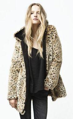 Gorgeous Leopard Print Coat