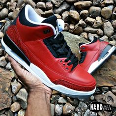 Custom Toro 3's  For all SERIOUS inquiries about customs  Send a TEXT (713) 352-8681 or email datboynard@hotmail.com  Do not DM or CALL the 2 options  above is the best way to keep track of all conversations. Thanks --------------------------------------------------------- --- #KrispySoles #HtownGotSole #AceOfCustoms #WLU #NiceKicks #Wdywt #KicksOnFire #SneakGallery #MyKicksHeat #Xgear101 #SneakerWhores #SneakGallery #Smiths_kickz  #igsneakercommunity #SneakerFiles #TodaysKicks #SneakerNews…