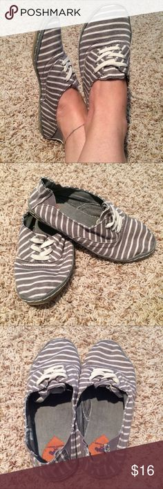 ROCKET DOG Slip-ons...if you LOVE being barefoot! Excellent condition! Worn a couple times. These are lightweight and comfy. If you love being barefoot, you'll love these. Size 7.5. Rocket Dog Shoes
