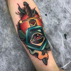 Another photo of this one! #skin2skin #handmademachines #thenewtraditionalistseurope #tattoo #tattoos #neotradsub #neotraditionals #ntgallery #neotradstyle #besttradtattoos #neotradeu #darkartists #classictattooink #toptattooartist #topclasstattooing #tattooersubmission #skinartmag #TattooCircle #radtattoos #myworldofink #colourtattooing #boldwillhold #brightandbold #inkedmag #thebesttattooartists #tradworkers #tradworkerssubmission #tattooworkers #thebesttattooartists #TAOT