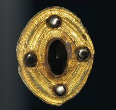 Late Roman Umbonate brooch, 5th century A.D.